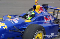 IRL: Scheckter penalized for unsportsmanlike conduct
