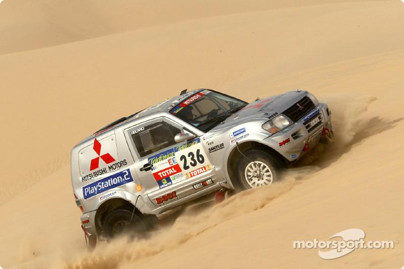 Dakar: Mitsubishi stage 11 report