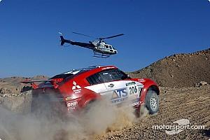 Dakar: Mitsubishi stage 14 report