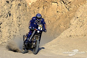 Dakar: Gauloises Racing stage 16 report