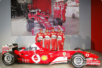 Ferrari launch the F2003-GA