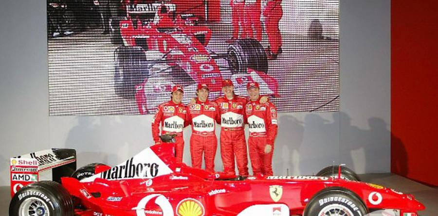 Ferrari launch the F2003-GA