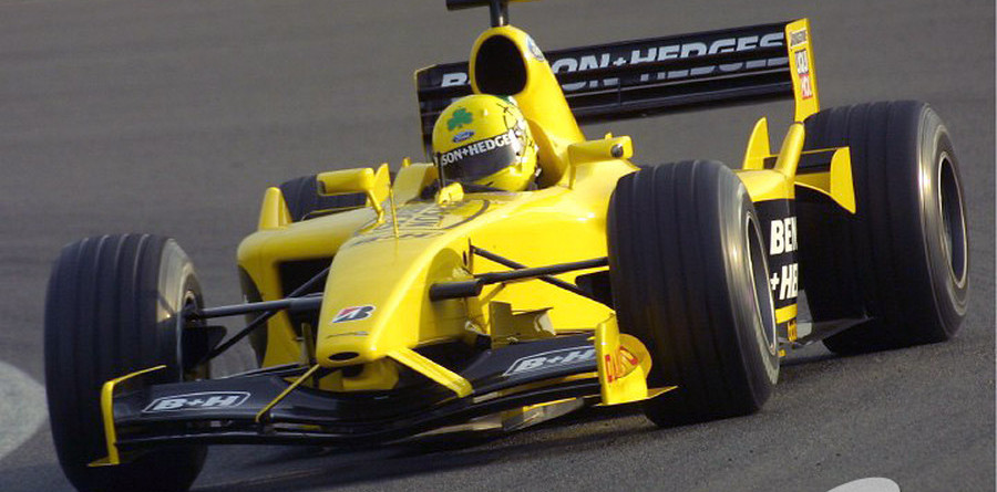 Test day at Silverstone 2003-02-26