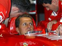 Schumacher front row in San Marino GP qualifying