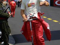 Schumacher just like anyone else