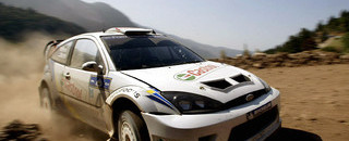 Martin holds the lead on day two Acropolis Rally