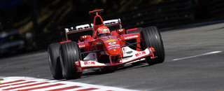 Schumacher wins fight for Italian GP pole