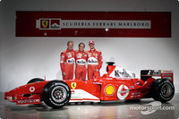 Ferrari launches F2004 at Maranello