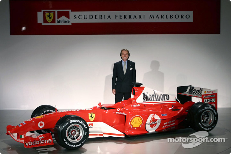 Montezemolo wishes Ferrari great success