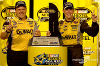 Kenseth takes million dollar paycheck