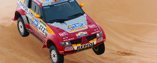 Alphand takes Dakar stage win as BMWs falter