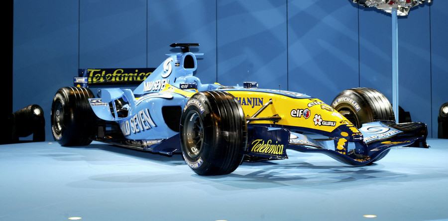 Renault R25 launched in Monaco