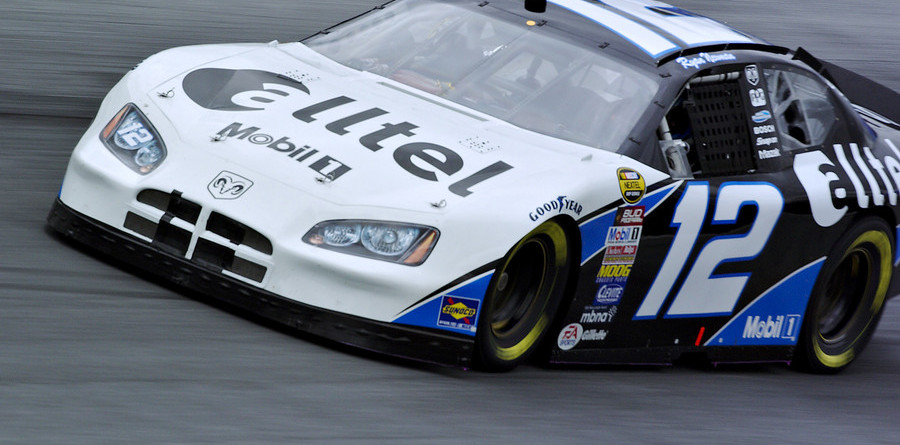 Newman lightning quick for Charlotte pole