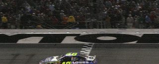 Johnson earns his first Daytona 500 win