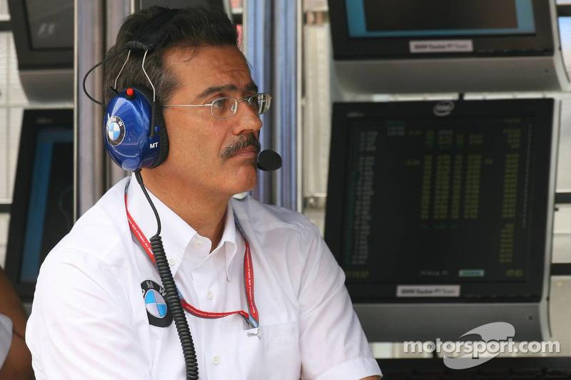 BMW Sauber interview with Theissen