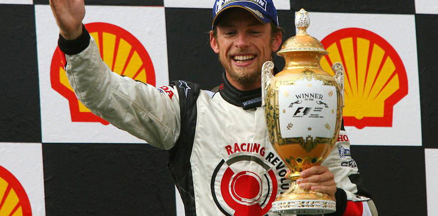 Button, Honda take maiden win at Hungarian GP