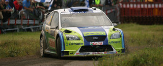 WRC Leg report Gronholm extends lead as Loeb stumbles