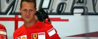 Michael Schumacher announces his retirement