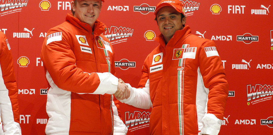 Ferrari duo start 2007 on positive note