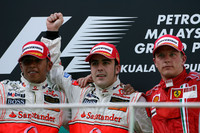 Alonso heads McLaren one-two in Malaysian GP