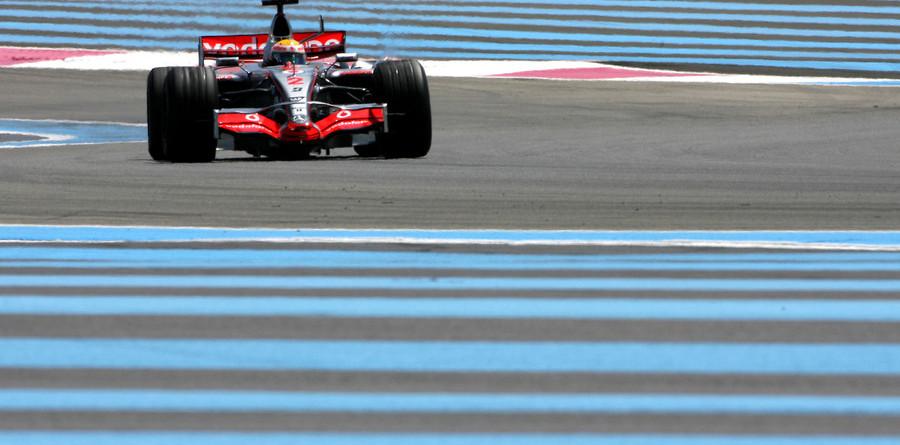 Hamilton leads again at Paul Ricard