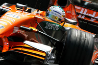 Sutil top in rainy Monaco GP last practice