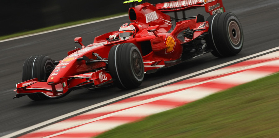 Raikkonen triumphs with Brazilian GP win and title