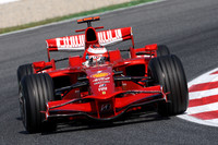 Raikkonen scoops fast practice time in Barcelona