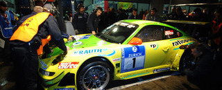 Endurance Porsches dominate Nurburgring with 12 hours to go