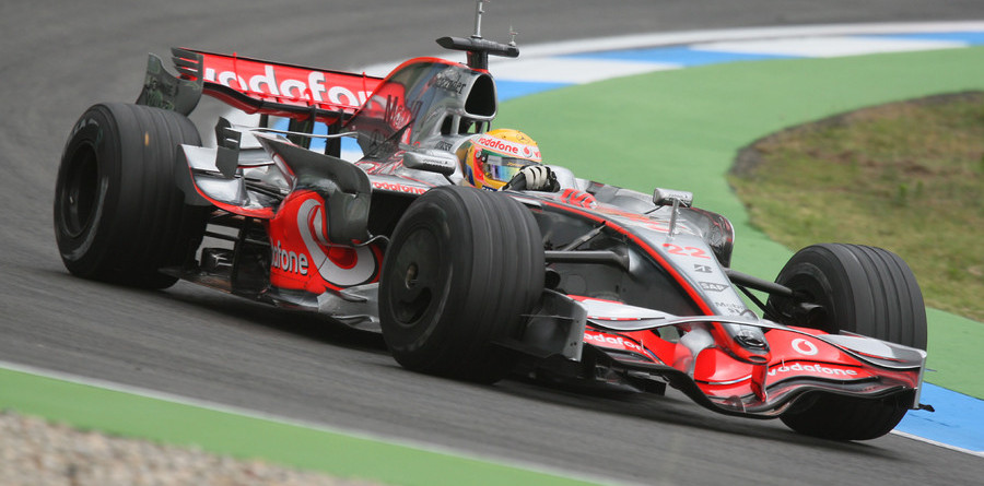 McLaren's Hamilton leads test at Hockenheim