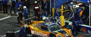 Grand-Am Lamy has SunTrust Racing in lead at halfway mark