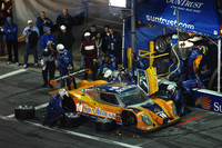 Lamy has SunTrust Racing in lead at halfway mark