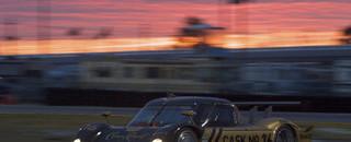 Penske leads Porsche 1-2-3 in early morning at Daytona