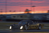 Penske leads Porsche 1-2-3 in early morning at Daytona