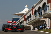 Kovalainen tops Turkey practice