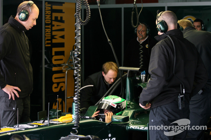 Team Lotus Barcelona test report 2011-03-11