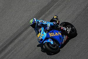 Rizka Suzuki Qatar test, day 1 report