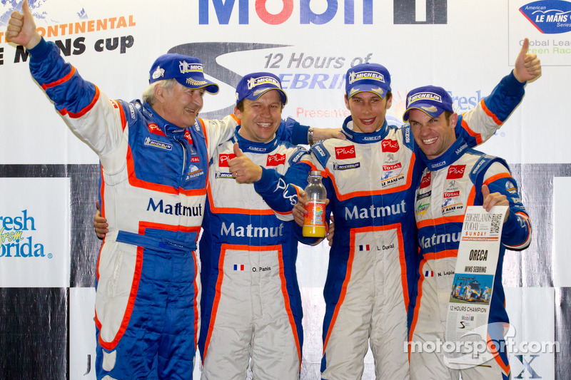 Team ORECA-Matmut race report