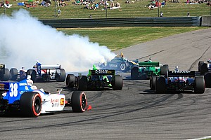 IndyCar KVRT-Lotus race report