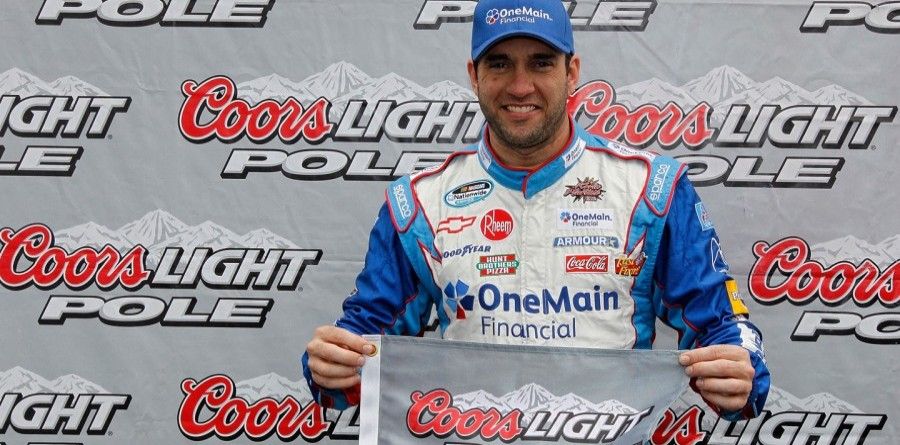 Sadler claims Nationwide Series pole at Talladega