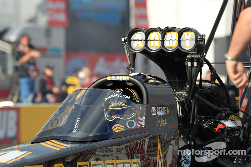 Tony Schumacher Friday report
