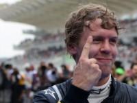 Vettel's victory-finger 'annoying' - Verstappen