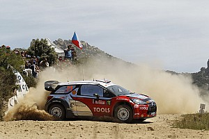 WRC Citroen Privateer Teams Rally Italia Sardegna Event Summary