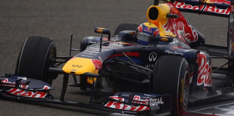 Webber Tops Opening Practice in Barcelona