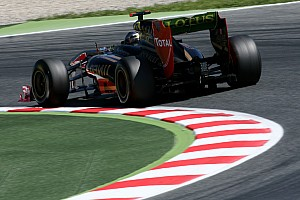 Lotus Renault Spanish GP Qualifying Report