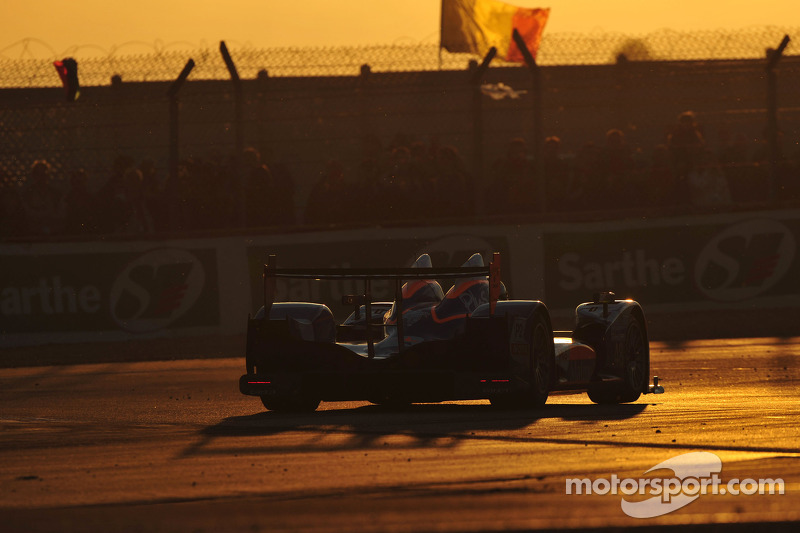 Team ORECA-Matmut LMP2 Le Mans Hour 8 Report