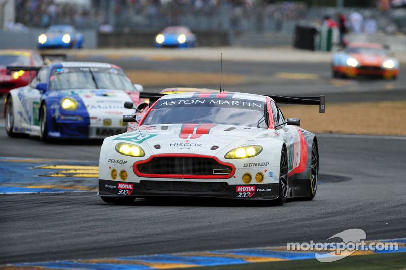 Jota Sport AMR Retires From Le Mans