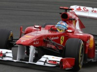 Alonso Quickest During First Practice For German GP