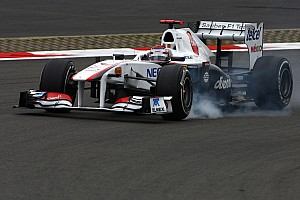 Sauber German GP - Nurburgring Friday Practice Report