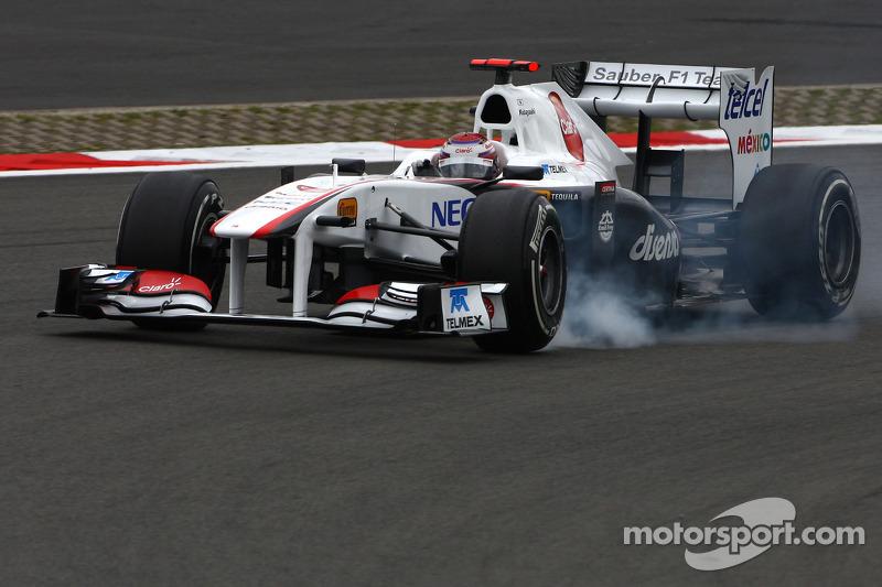 Sauber German GP - Nurburgring Friday Practice Report